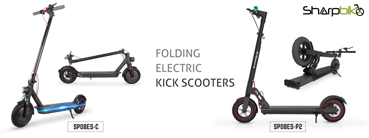 sharpbike 8 inch electric kick scooter