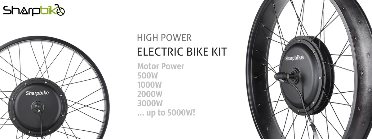 sharpbike high power direct motor