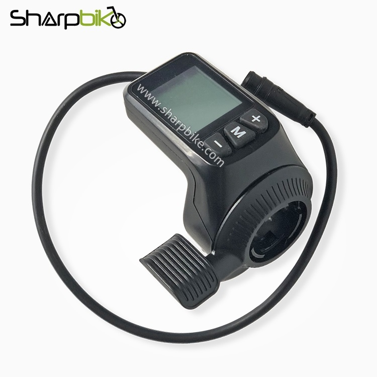 DT03-electric-bike-lcd-display-with-thumb-throttle