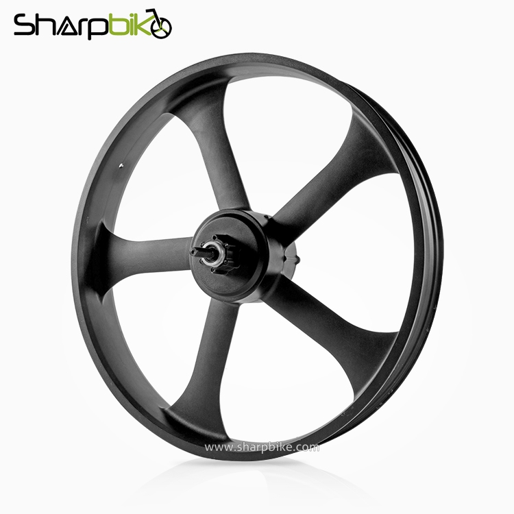 MTF01-sharpbike-five-spokes-magnesium-alloy-gear-motor-for-fat-tyre-bike