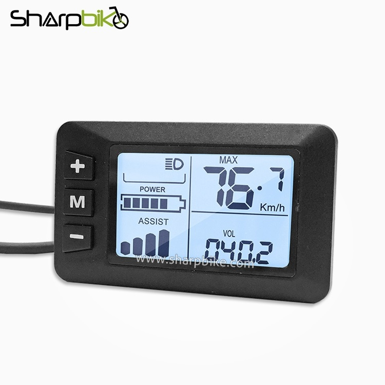 S400-sharpbike-electric-bicycle-lcd-display