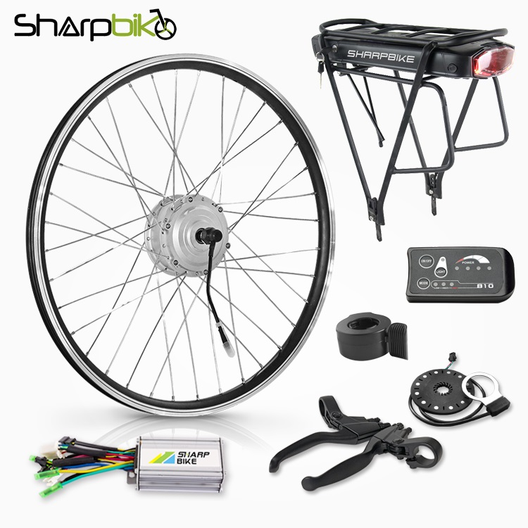 SK02E810-electric-bike-conversion-kit-with-rear-rack-battery