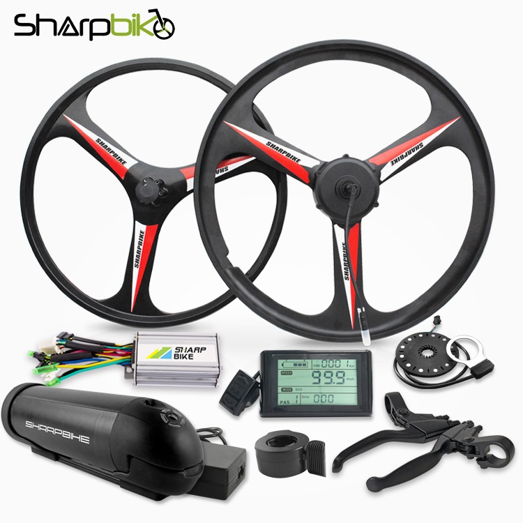 sharpbike-magnesium-e-bike-motor-wheel-with-battery