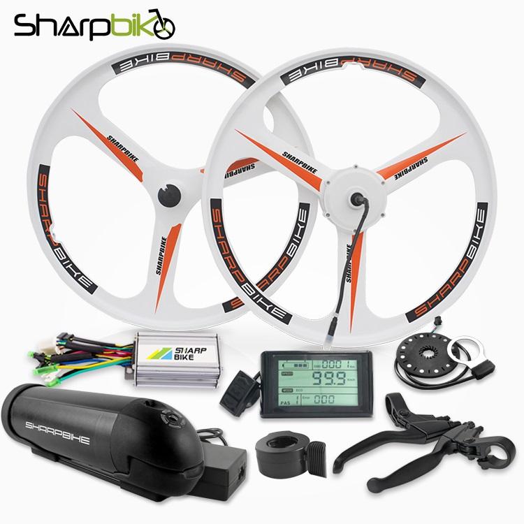 sharpbike-250W-350W-e-bike-kit-with-battery