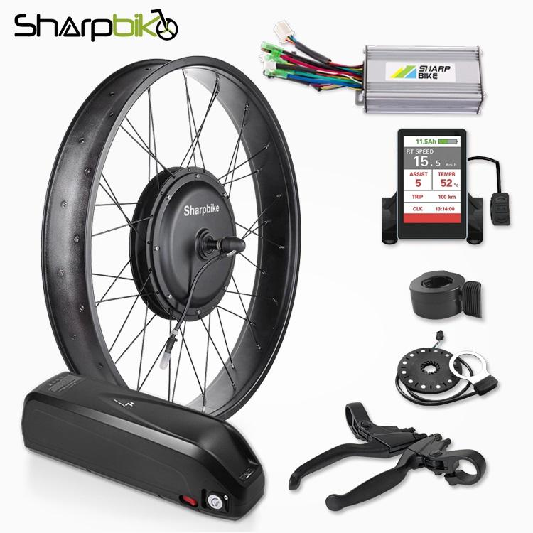 SKF02DP06-3000w-fat-tire-electric-bike-motor-kit