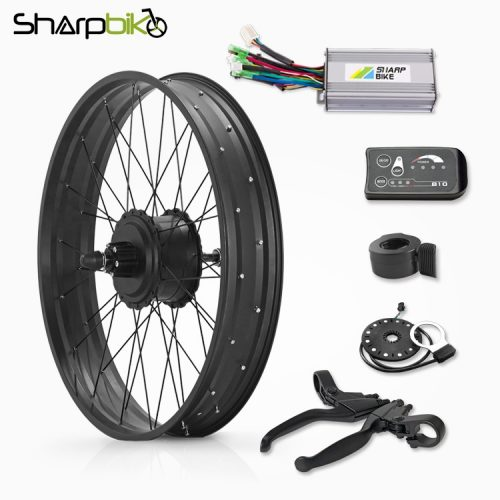 SKF03E810-20-inch-26-inch-fat-tire-electric-bike-gear-motor-kit