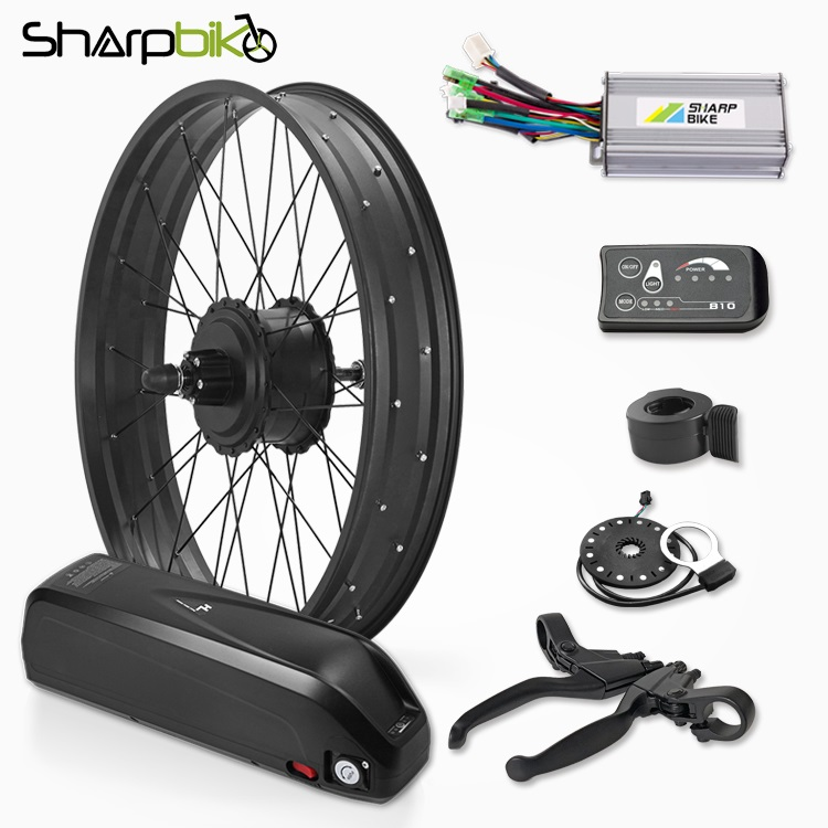 SKF03E810-350W-500W-1000W-1500W-fat-tire-electric-bike-gear-motor-kit