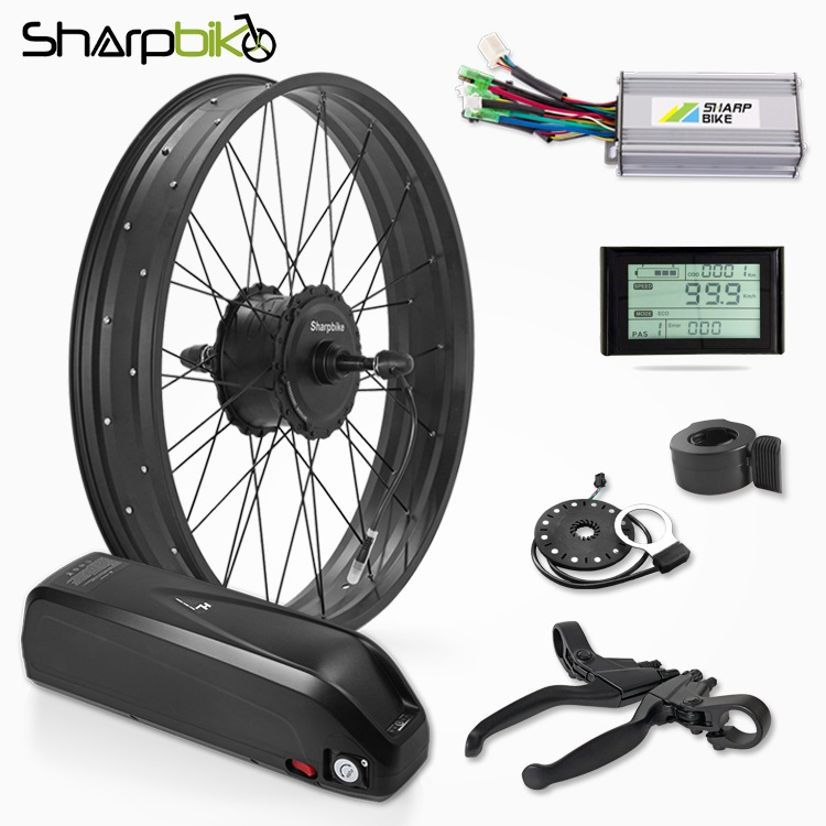SKF03S90-1000w-fat-tire-electric-bicycle-conversion-kit-with-battery