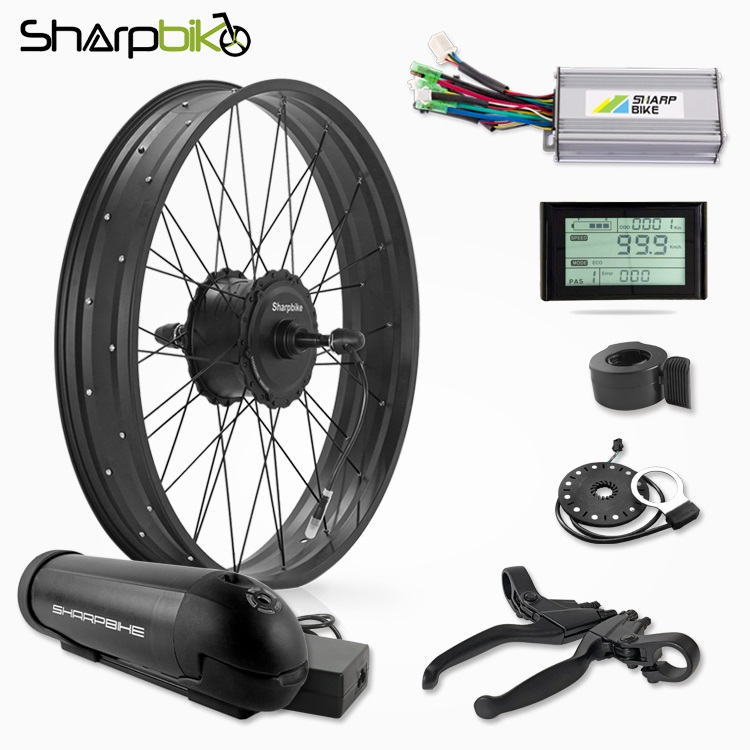 SKF03S90-1000w-fat-tire-electric-bike-conversion-kit-with-battery