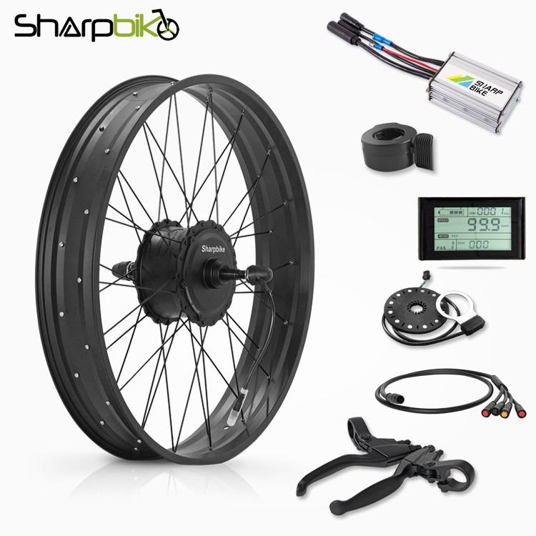 SKF03S90-26-inch-350w-fat-tyre-electric-bike-kit