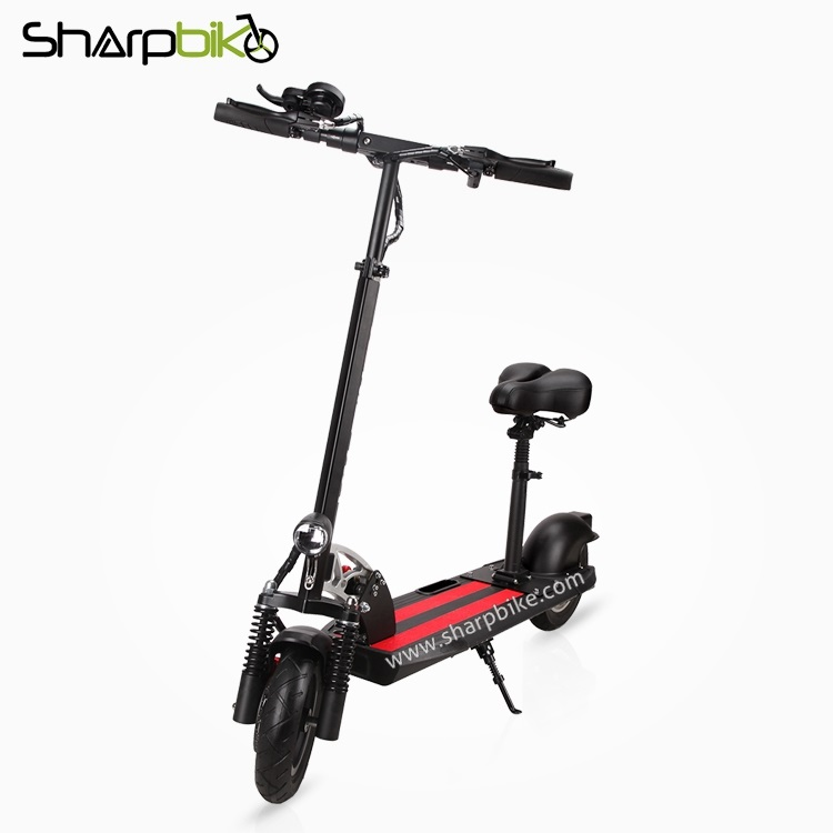 SP10ES-C-10-inch-folding-electric-scooter-with-saddle