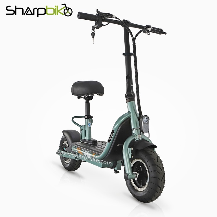 SP10ES-S-fat-tyre-folding-electric-scooter-with-seat