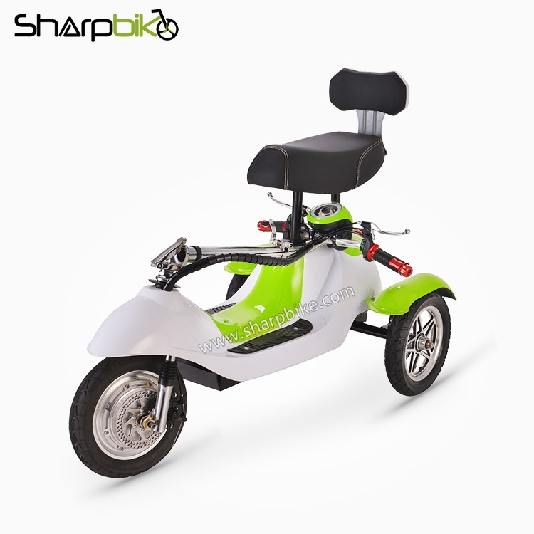SP12TR-D-three-wheel-folding-electric-scooter