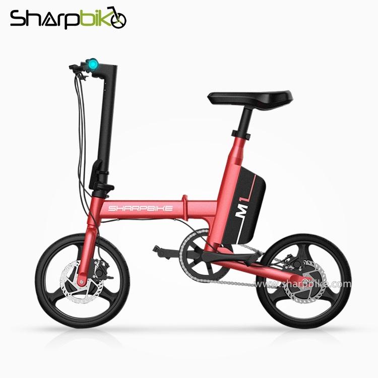 SP14EFB-M1-red-14inch-folding-electric-bike