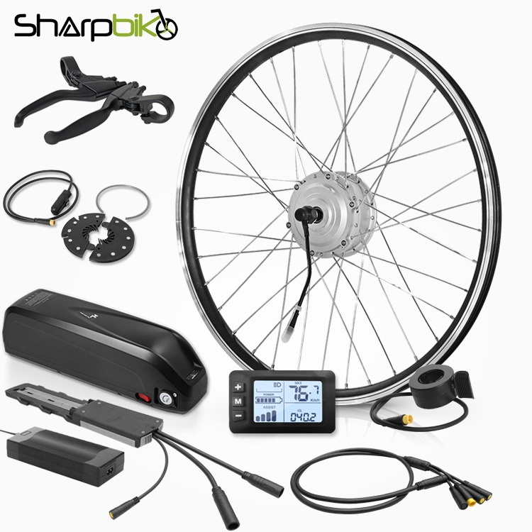 SK03HLS400-electric-bicycke-kit-hailong-battery-controller
