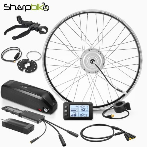 SK03HLS400-electric-bike-conversion-kit-with-hailong-battery
