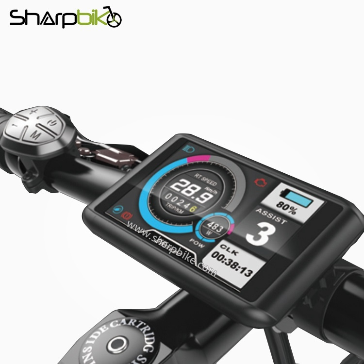 TFT-C1-Sharpbike-e-bike-colorful-lcd-display-3.5-inch-colorful-screen