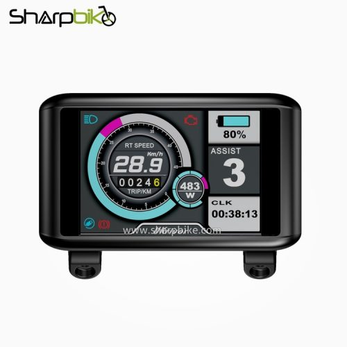 TFT-C1-Sharpbike-electric-bicycle-tft-lcd-display