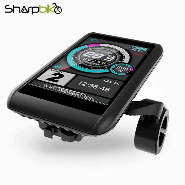 TFT-C1-Sharpbike-electric-bike-36v-48v-60v-72v-colorful-lcd-display