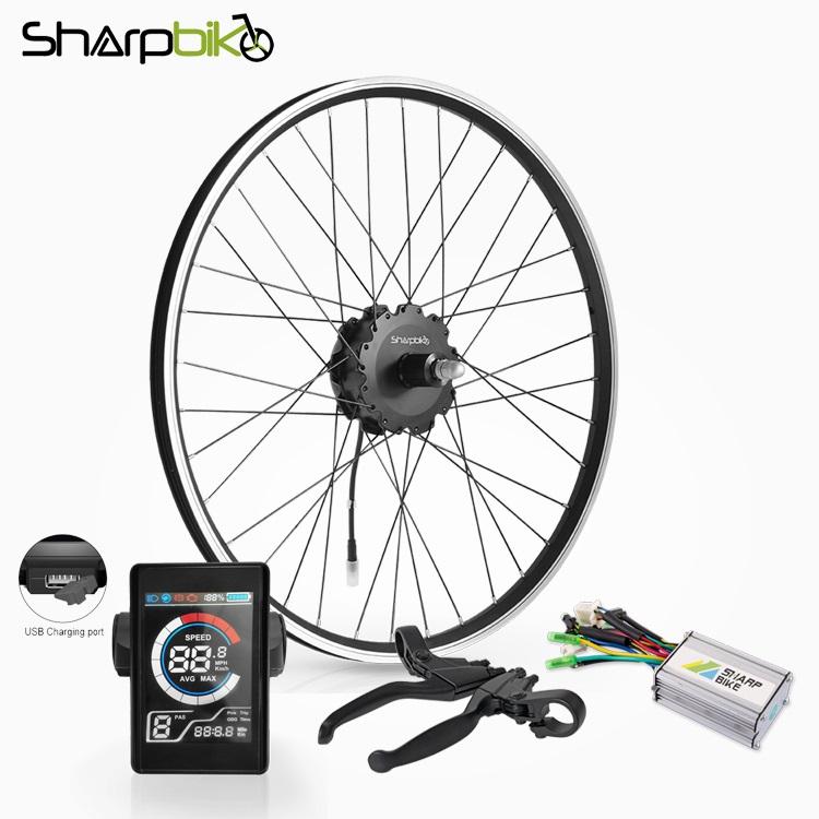 SK05CS2-sharpbike-36v-250w-electric-bike-kit-with-colorful-display